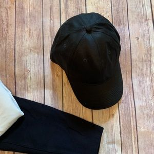 Accessories - Solid Black Baseball Cap